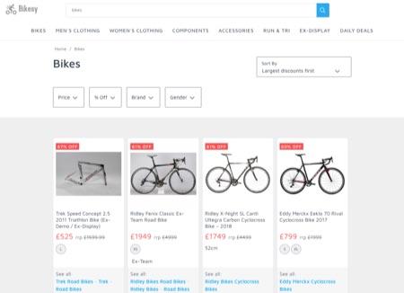 Bikesy - bike discounts