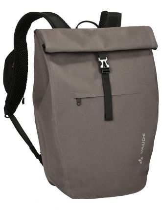Sustainable city cycling backpack by Vaude.
