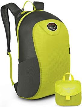 Osprey packable backpack.
