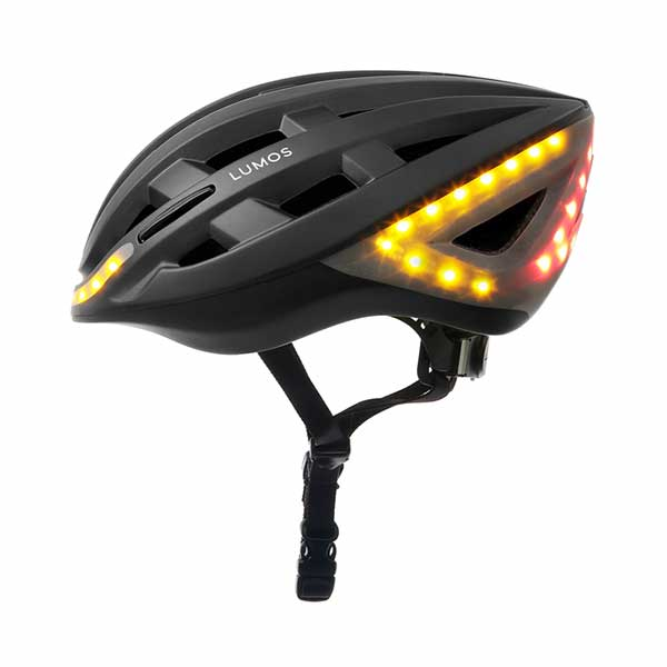 Lumos helmet. Cool features come at a price.