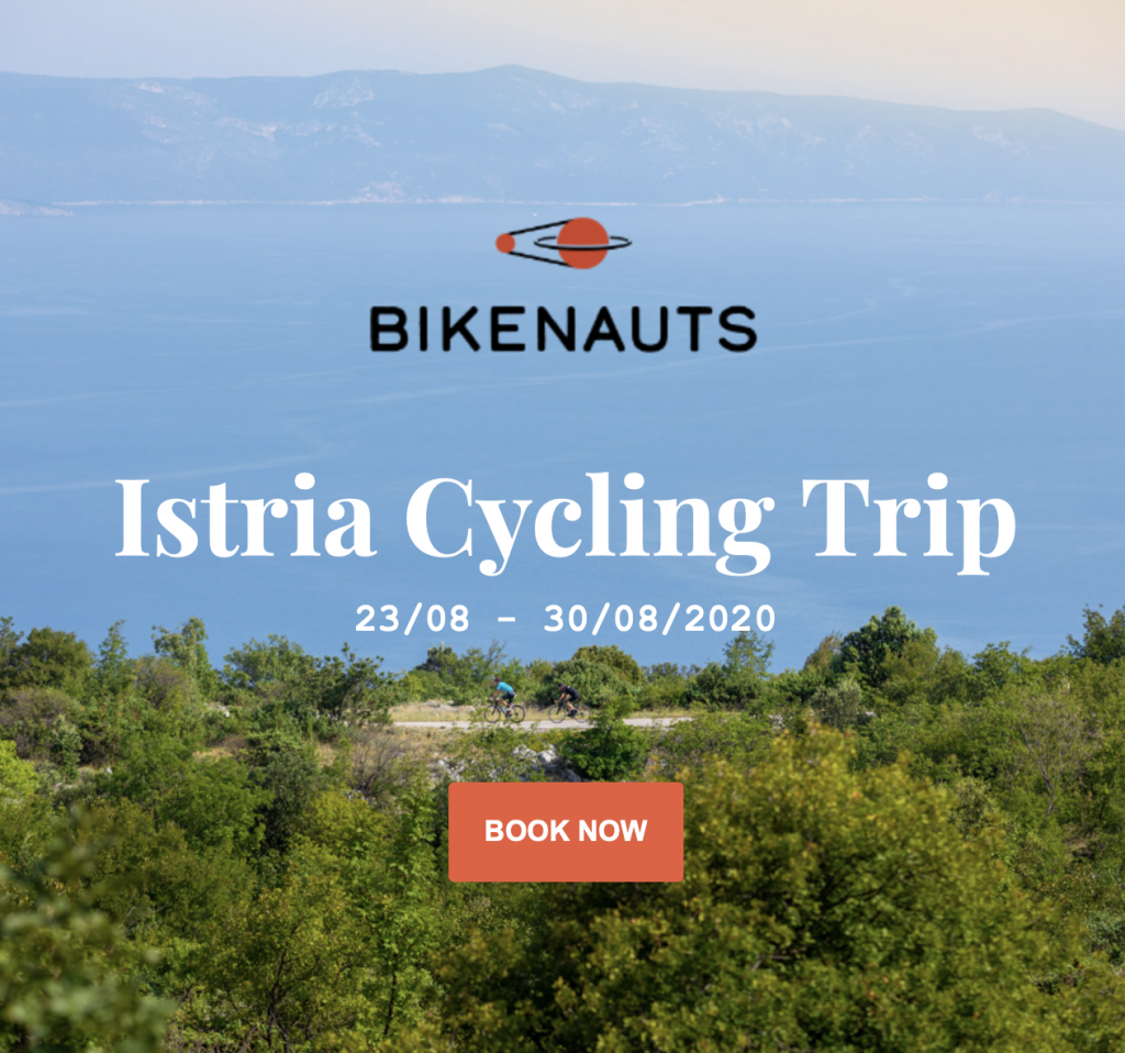 Istria Cycling Trip August 2020. Book Now.
