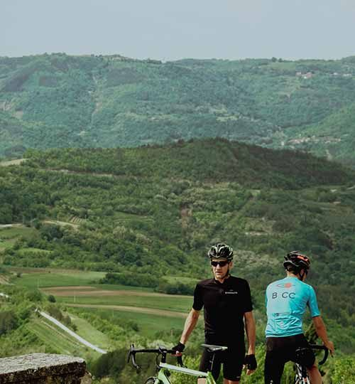 Bikenauts Istria Cycling View
