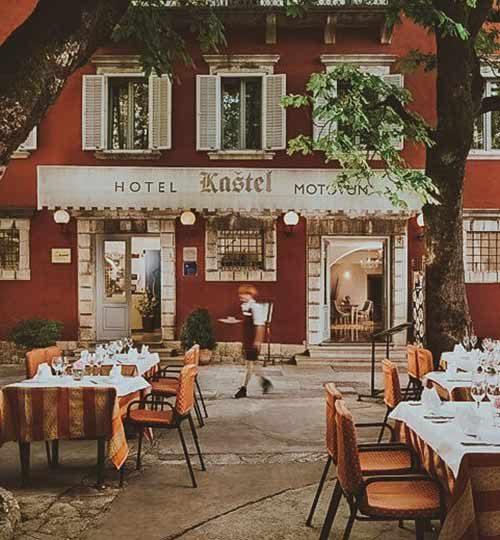 Hotel Kaštel in Motovun