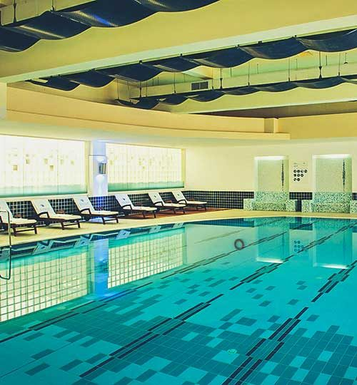 Hotel Diamant Indoor Pool
